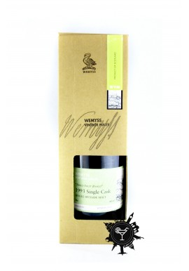 WHISKY WEMYSS VINTAGE MALTS -DRIED FRUIT BASKET- 1993 CASK