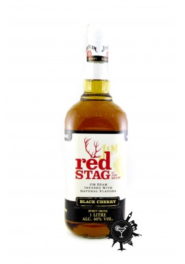 BOURBON RED STAG BY JIM BEAM BLACK CHERRY